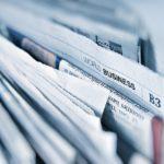 Na czym polega łamanie gazety?